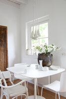 Bildnr.: 11006664<br/><b>Feature: 00790114 - Spiel der Kontraste</b><br/>A country house belonging to an interior designer, Niederlande<br />living4media / Claessens, Bieke