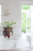 Bildnr.: 11006666<br/><b>Feature: 00790114 - Spiel der Kontraste</b><br/>A country house belonging to an interior designer, Niederlande<br />living4media / Claessens, Bieke