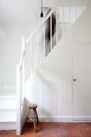 Bildnr.: 11006670<br/><b>Feature: 00790114 - Spiel der Kontraste</b><br/>A country house belonging to an interior designer, Niederlande<br />living4media / Claessens, Bieke