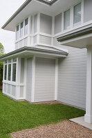 Bildno.: 11018616<br/><b>Feature: 11018591 - Relaxed but stylish</b><br/>Hamptons style beach house near Palm Beach<br />living4media / Bayside