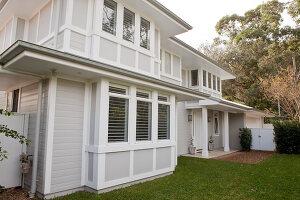 Bildno.: 11018618<br/><b>Feature: 11018591 - Relaxed but stylish</b><br/>Hamptons style beach house near Palm Beach<br />living4media / Bayside