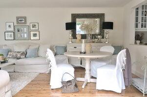 Wohnzimmer Romantisch