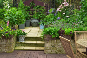Bildno.: 11053586<br/><b>Feature: 11053585 - Private Paradise</b><br/>City garden in London<br />living4media / Burgess, Linda