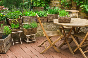 Bildno.: 11053588<br/><b>Feature: 11053585 - Private Paradise</b><br/>City garden in London<br />living4media / Burgess, Linda