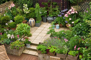 Bildno.: 11053590<br/><b>Feature: 11053585 - Private Paradise</b><br/>City garden in London<br />living4media / Burgess, Linda