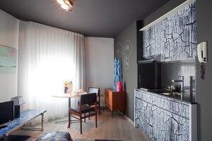 Bildnr.: 11091884<br/><b>Feature: 11091868 - Daheim in der Fremde</b><br/>Wohnen auf Zeit in Antwerpen<br />living4media / Claessens, Bieke
