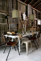 Bildno.: 11151838<br/><b>Feature: 11151837 - Celebrate Autumn</b><br/>Barn party is a feast for all senses<br />living4media / Annette &amp; Christian