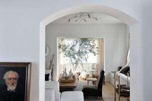 Bildno.: 11177060<br/><b>Feature: 11177059 - Italian Style, Tunisian Charm</b><br/>Simplicity and light characterise this villa in Tunis<br />living4media / Del Olmo, Henri