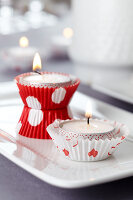 Bildno.: 11182970<br/><b>Feature: 11182929 - Party Fun</b><br/>Decorating ideas using cup cake tin liners<br />living4media / Taube, Franziska