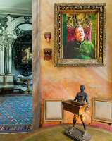 Bildno.: 11213062<br/><b>Feature: 11213061 - Staged for Living</b><br/>Stage designer&#39;s Baroque apartment in Vienna<br />living4media / von Oswald, Yvonne
