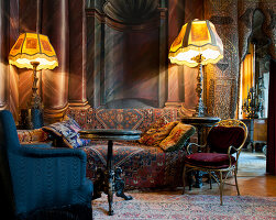 Bildno.: 11213068<br/><b>Feature: 11213061 - Staged for Living</b><br/>Stage designer&#39;s Baroque apartment in Vienna<br />living4media / von Oswald, Yvonne