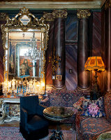 Bildno.: 11213070<br/><b>Feature: 11213061 - Staged for Living</b><br/>Stage designer&#39;s Baroque apartment in Vienna<br />living4media / von Oswald, Yvonne