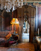 Bildno.: 11213072<br/><b>Feature: 11213061 - Staged for Living</b><br/>Stage designer&#39;s Baroque apartment in Vienna<br />living4media / von Oswald, Yvonne