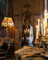 Bildno.: 11213076<br/><b>Feature: 11213061 - Staged for Living</b><br/>Stage designer&#39;s Baroque apartment in Vienna<br />living4media / von Oswald, Yvonne