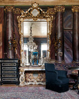 Bildno.: 11213078<br/><b>Feature: 11213061 - Staged for Living</b><br/>Stage designer&#39;s Baroque apartment in Vienna<br />living4media / von Oswald, Yvonne