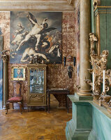 Bildno.: 11213082<br/><b>Feature: 11213061 - Staged for Living</b><br/>Stage designer&#39;s Baroque apartment in Vienna<br />living4media / von Oswald, Yvonne