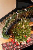 Bildnr.: 11216242<br/><b>Feature: 11216227 - Wo Weihnachten wohnt</b><br/>Klassisch dekoriertes Landhaus in Nottinghamshire, England<br />living4media / von Einsiedel, Andreas