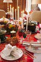 Bildnr.: 11216256<br/><b>Feature: 11216227 - Wo Weihnachten wohnt</b><br/>Klassisch dekoriertes Landhaus in Nottinghamshire, England<br />living4media / von Einsiedel, Andreas