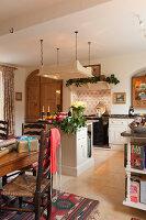 Bildnr.: 11216262<br/><b>Feature: 11216227 - Wo Weihnachten wohnt</b><br/>Klassisch dekoriertes Landhaus in Nottinghamshire, England<br />living4media / von Einsiedel, Andreas