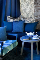 Bildno.: 11223644<br/><b>Feature: 11223640 - A Rhapsody in Blue</b><br/>Decorating with shades of blue<br />living4media / Annette &amp; Christian