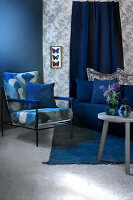 Bildno.: 11223658<br/><b>Feature: 11223640 - A Rhapsody in Blue</b><br/>Decorating with shades of blue<br />living4media / Annette &amp; Christian