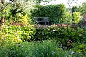 Bildnr.: 11223730<br/><b>Feature: 11223710 - Formvollendet</b><br/>Heerenhof, ein idyllischer Garten in Maastricht<br />living4media / Pietrek, Sibylle