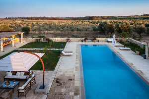 Bildno.: 11235234<br/><b>Feature: 11235192 - La Spinetta</b><br/>Holiday home in Carpignano del Salento, Puglia, Italy<br />living4media / Harrison, Anthony