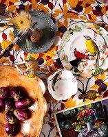 Bildnr.: 11239590<br/><b>Feature: 11239578 - Ein Leben im Kunstwerk</b><br/>Florale Muster und aufregende Farben f&#252;r die ganze Wohnung<br />living4media / Bauer Syndication