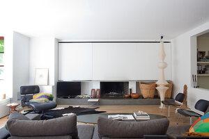 Bildnr.: 11242276<br/><b>Feature: 11242247 - L&#228;ssig leben in den D&#252;nen</b><br/>Modern gestaltetes Haus mit Meeresbrise in Nieuwpoort, Belgien<br />living4media / Claessens, Bieke