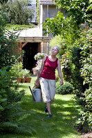 Bildno.: 11263454<br/><b>Feature: 11263422 - Garden Dreams</b><br/>Romantic garden near Cologne<br />living4media / Bauer, Christine