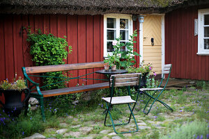 Bildno.: 11272028<br/><b>Feature: 11271958 - Swedish Garden</b><br/>Garden in Lynga<br />living4media / M&#246;ller, Cecilia