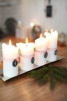 Bildno.: 11282300<br/><b>Feature: 11282243 - Home for Christmas</b><br/>Christmas decorating Swedish style<br />living4media / IBL Bildbyra AB / Angelica, S&#246;derberg