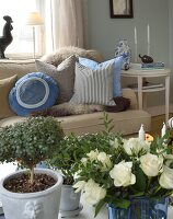 Bildno.: 11302248<br/><b>Feature: 11302230 - Swedish Sophistication</b><br/>Swedish home decorated with objects from all over the world<br />living4media / IBL Bildbyra AB / Ericsson, Peter