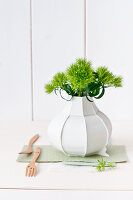 Bildno.: 11305852<br/><b>Feature: 11305840 - The Greening Touch</b><br/>Green flowers add a special kick to any room<br />living4media / Weber, Cornelia