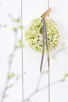 Bildno.: 11305864<br/><b>Feature: 11305840 - The Greening Touch</b><br/>Green flowers add a special kick to any room<br />living4media / Weber, Cornelia