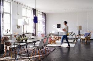 Bildno.: 11306366<br/><b>Feature: 11306352 - With Love for Design</b><br/>Designer&#39;s loft in Berlin<br />living4media / Thurmann, Stefan