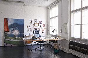 Bildno.: 11306368<br/><b>Feature: 11306352 - With Love for Design</b><br/>Designer&#39;s loft in Berlin<br />living4media / Thurmann, Stefan