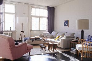 Bildno.: 11306370<br/><b>Feature: 11306352 - With Love for Design</b><br/>Designer&#39;s loft in Berlin<br />living4media / Thurmann, Stefan