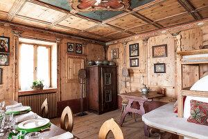 Bildnr.: 11308140<br/><b>Feature: 11308134 - Alpen-Idyll</b><br/>Rustikales Chalet in Cortina d&#39;Ampezzo, Italien<br />living4media / Cimarosti, Brando