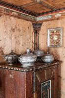 Bildnr.: 11308148<br/><b>Feature: 11308134 - Alpen-Idyll</b><br/>Rustikales Chalet in Cortina d&#39;Ampezzo, Italien<br />living4media / Cimarosti, Brando