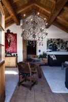 Bildnr.: 11308176<br/><b>Feature: 11308134 - Alpen-Idyll</b><br/>Rustikales Chalet in Cortina d&#39;Ampezzo, Italien<br />living4media / Cimarosti, Brando