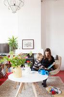 Bildnr.: 11313942<br/><b>Feature: 11313928 - Buntes Familienleben</b><br/>Fr&#246;hliches Haus im Seebad von Den Haag<br />living4media / Klazinga, Jansje