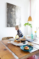 Bildnr.: 11313950<br/><b>Feature: 11313928 - Buntes Familienleben</b><br/>Fr&#246;hliches Haus im Seebad von Den Haag<br />living4media / Klazinga, Jansje