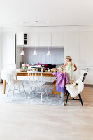 Bildno.: 11315136<br/><b>Feature: 11315127 - Unity and Colour</b><br/>A home with iconic Scandinavian design in Malm&#246;<br />living4media / Klazinga, Jansje
