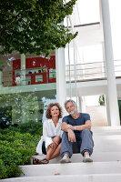 Bildnr.: 11321710<br/><b>Feature: 11321705 - Ein architektonischer W&#252;rfel</b><br/>Selbstdesigntes Haus mit ausgedehntem Aussenbereich f&#252;r die Freizeit, Italien<br />living4media / Rizzi, Laura