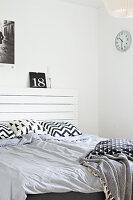 Bildnr.: 11321952<br/><b>Feature: 11321942 - Grafisches Nordlicht</b><br/>Modern, kreativ und schwarz-wei&#223;: So lebt eine junge Familie in Schweden<br />living4media / M&#246;ller, Cecilia