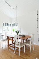 Bildnr.: 11321986<br/><b>Feature: 11321942 - Grafisches Nordlicht</b><br/>Modern, kreativ und schwarz-wei&#223;: So lebt eine junge Familie in Schweden<br />living4media / M&#246;ller, Cecilia