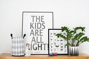 Bildnr.: 11322010<br/><b>Feature: 11321942 - Grafisches Nordlicht</b><br/>Modern, kreativ und schwarz-wei&#223;: So lebt eine junge Familie in Schweden<br />living4media / M&#246;ller, Cecilia