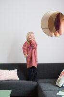 Bildnr.: 11323952<br/><b>Feature: 11323859 - K&#252;nstlerisches Zuhause</b><br/>Ein holl&#228;ndische Designerpaar vereint Familie und Atelier unter einem Dach<br />living4media / de Kleermaeker, Anouk