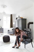 Bildnr.: 11325166<br/><b>Feature: 11325156 - Blogger-Style</b><br/>Das Zuhause von Bloggerin Tina in Kopenhagen ist eine wahre Inspirationsquelle!<br />living4media / Klazinga, Jansje